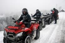 Quad Tour im Schnee 2h - mit Fondue im Appenzellerland