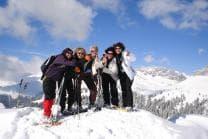 Scheeschuhtour & Gipfel Fondue - im schönen Bündnerland