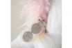 Pantoufles licorne - Avec lumières - en peluche 7