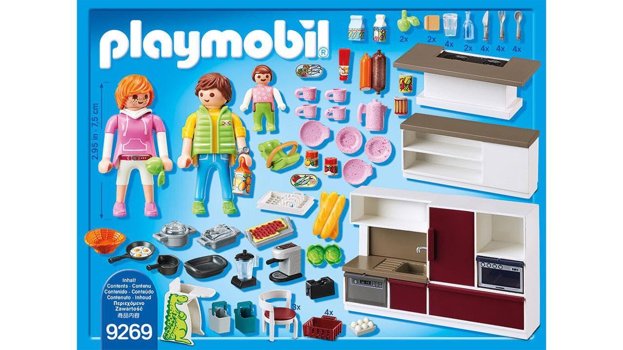 Cuisine aménagée - Playmobil® Playmobil Citylife 9269 1 article_picture_small