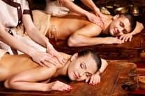 45-minütige Massage & Tee - für 2 Personen - Spa Hotel 4*Macchi in Châtel