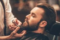 Professionelles Barber-Styling - Styling für 1 Mann, inkl. Bartpflege-Set