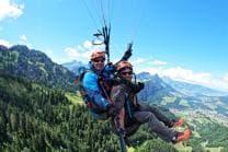 Vol en Parapente Biplace - Vol Ikarus - Région de la Gruyère
