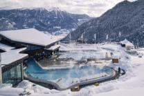 Thermalbad und Spa - im Les Bains d'Ovronnaz für 2 Personen
