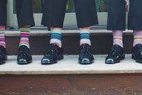 Abonnement de chaussettes - Livraison de chaussettes colorées, 12 mois   modèle au hasard