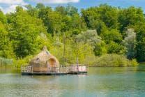 Romantische Hütte auf dem See - 1 Nacht inkl. Frühstück für 2 Personen