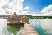 Hütte am See Übernachtung - 1 Nacht inkl. Frühstück für bis zu 6 Personen