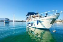 Luxusboot-Übernachtung - 1 Nacht auf einem Privatboot inkl. 1 Flasche Wein