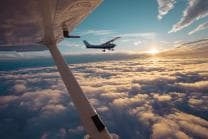 Vol privé - 1 heure au-dessus de Lucerne pour 2 personnes
