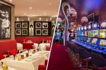 Romantischer Casino-Abend - Abendessen & Champagner in Le Fouquet's und Spiele für 2 Personen
