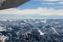 Privater Rundflug - 1 Stunde über Zürich für 1 Person