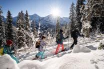 Schneeschutour Lobhornhütte - inkl. Guide & Ausrüstung für 2