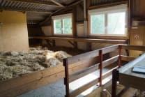 Schlafen im Stroh - auf einem Biobauernhof am Rhein