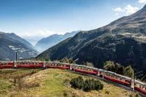 Bernina Express für 2 - von Chur nach Tirano