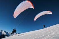 Gleitschirmflug für Paare - Gemeinsam abheben in Davos Klosters