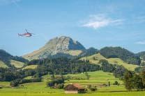 Heli-Fondue auf dem Moléson - 20 Minuten Helikopter-Flug und Fondue für 1 Person