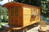 Wohnwagen Übernachtung - inkl. Jacuzzi, Sauna und Hammam