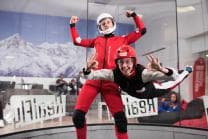 Indoor Bodyflying in Sion - 6 Flüge für 1 Person oder 3 Flüge für 2 Personen - Werktags