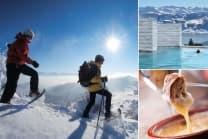 Wunderbarer Tag auf der Rigi - inkl. Schneeschuh-Tour, Fondue & Spa