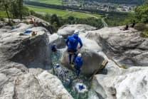 Canyoning Abenteuer - im Tessin