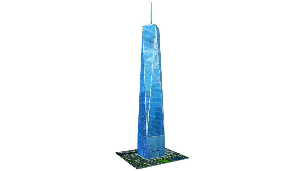 one world trade center puzzle 3d