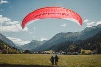 Gleitschirm Höhenflug - Tandemflug in Davos GR