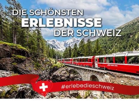 Die schönsten Erlebnisse der Schweiz