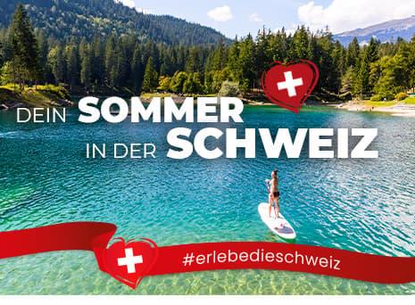 Dein Sommer in der Schweiz