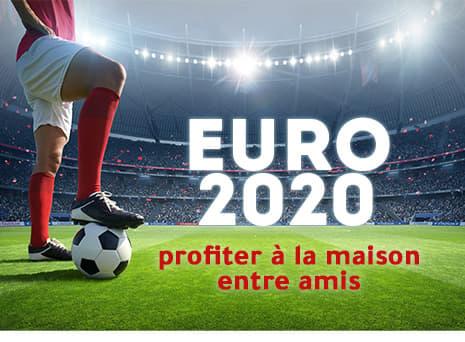 Profitez de l'Euro entre amis !