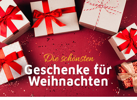 Die schönsten & aussergewöhnlichsten Geschenkideen für Weihnachten