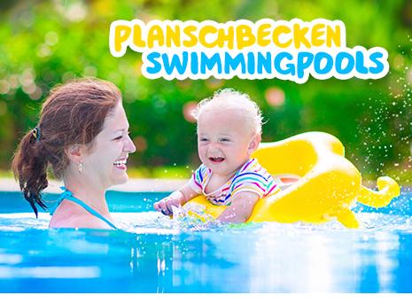 Badeartikel, Swimmingpools & Planschbecken