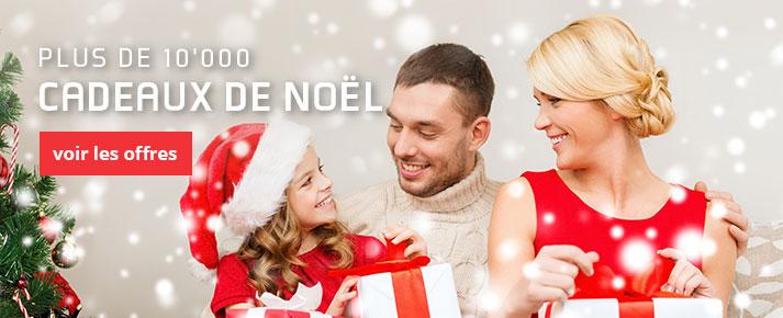 Plus de 10'000 idées cadeaux pour Noël