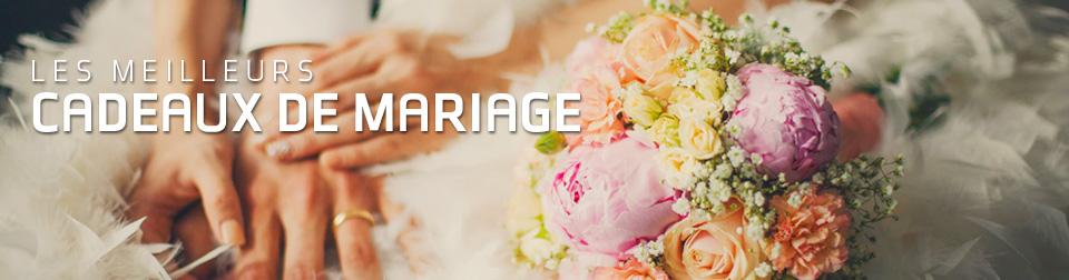 Les meilleures idées de cadeaux pour mariage